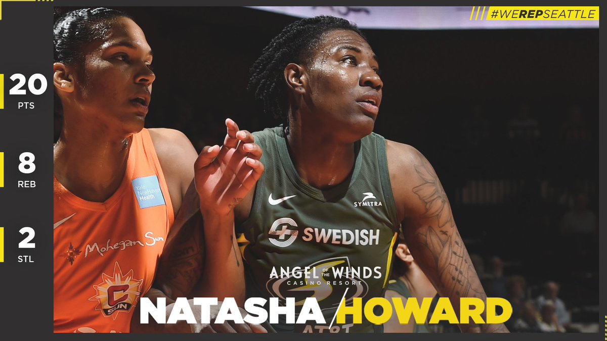 💪🔥 Another solid performance from @nhoward1033 means she's once again our @aotwcasino Player of The Game 🔥💪  #WeRepSeattle