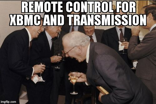 remote control for XBMC and transmission https://t.co/5rhosHTpfk https://t.co/deNyuJ8HfE