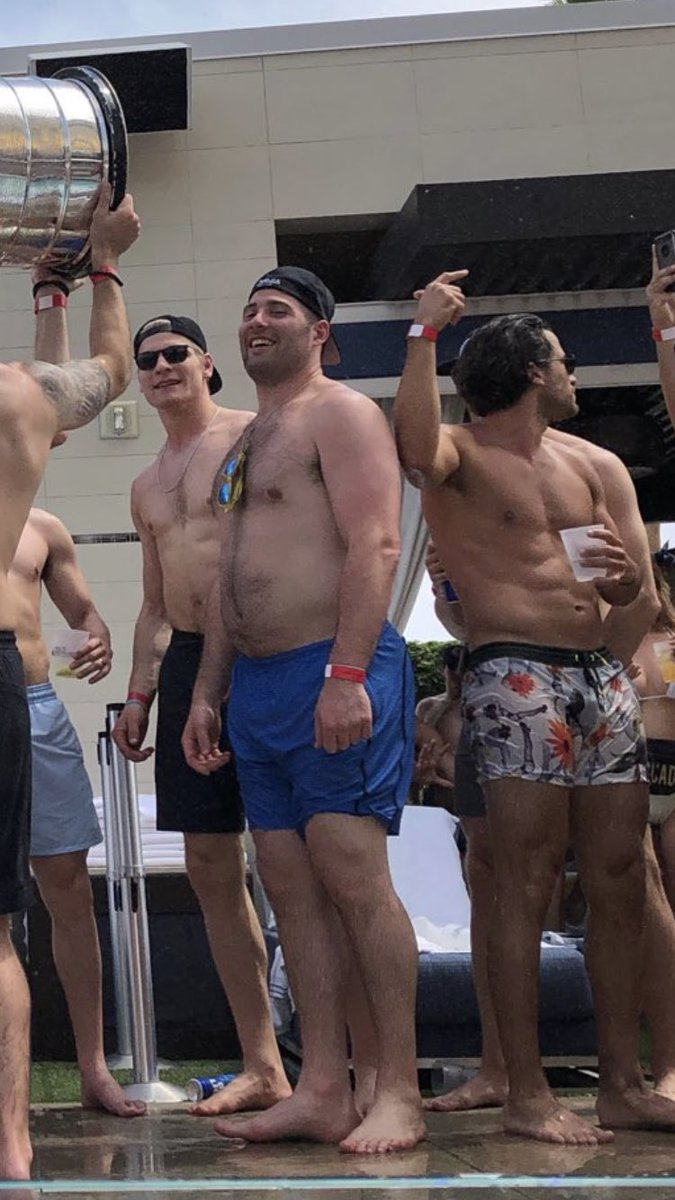 Pat Maroon is a Stanley Cup champion