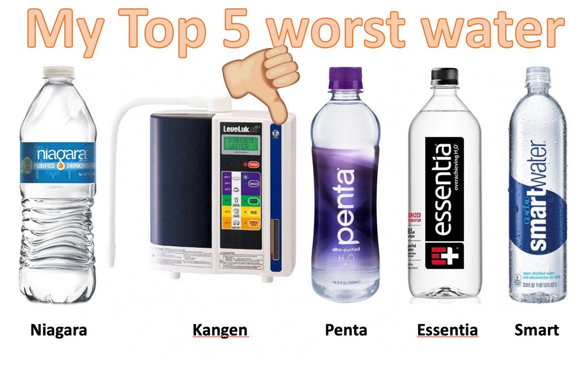 My personal Top 5 worst water you can buy! What are yours?