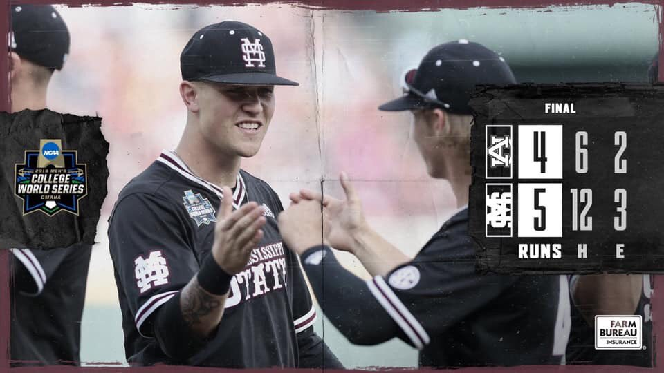 Please Retweet if your team won their CWS game today! #HailState #CWS