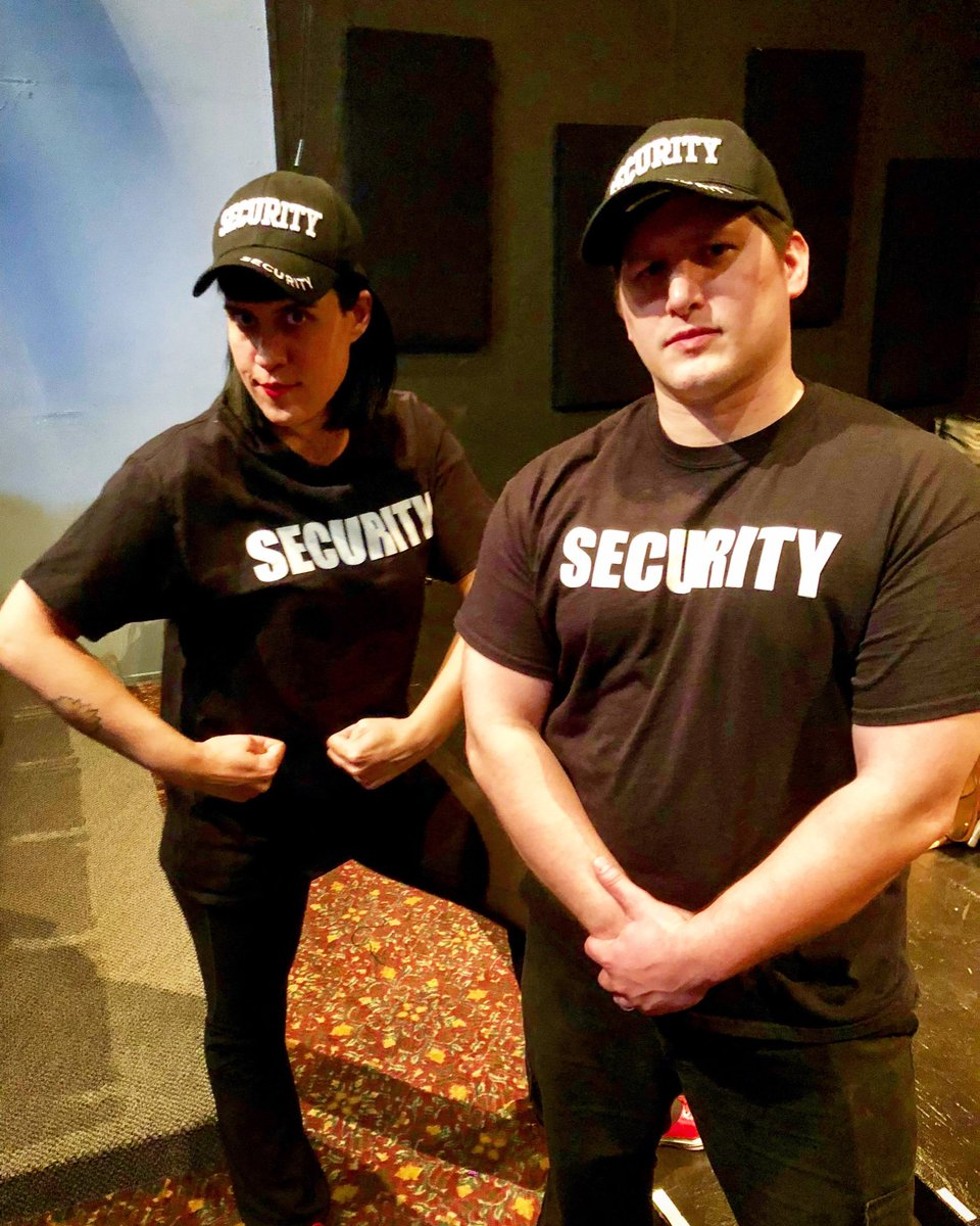 Don't mess with Donna and Daniel! @dbacting #hff19 #hollywoodfringe @hollywoodfringe #security #actor #theater https://t.co/5S0MYfXENY