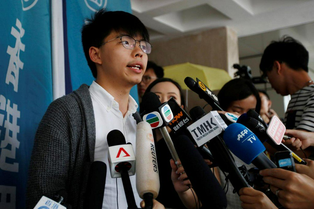 Hong Kong democracy activist freed from jail, vows to join mass protests https://reut.rs/2WOHdy5
