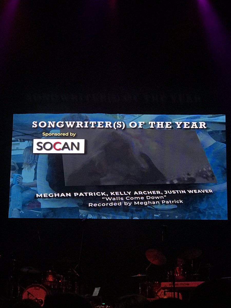 Huge congratulations going out to @MegPatrickMusic for crushing it at the @theCMAOntario awards and taking home a total of five awards!! #songwriteroftheyear #femaleartistoftheyear #musicvideo #fanschoice #albumoftheyear <br>http://pic.twitter.com/GwrKz44P5f