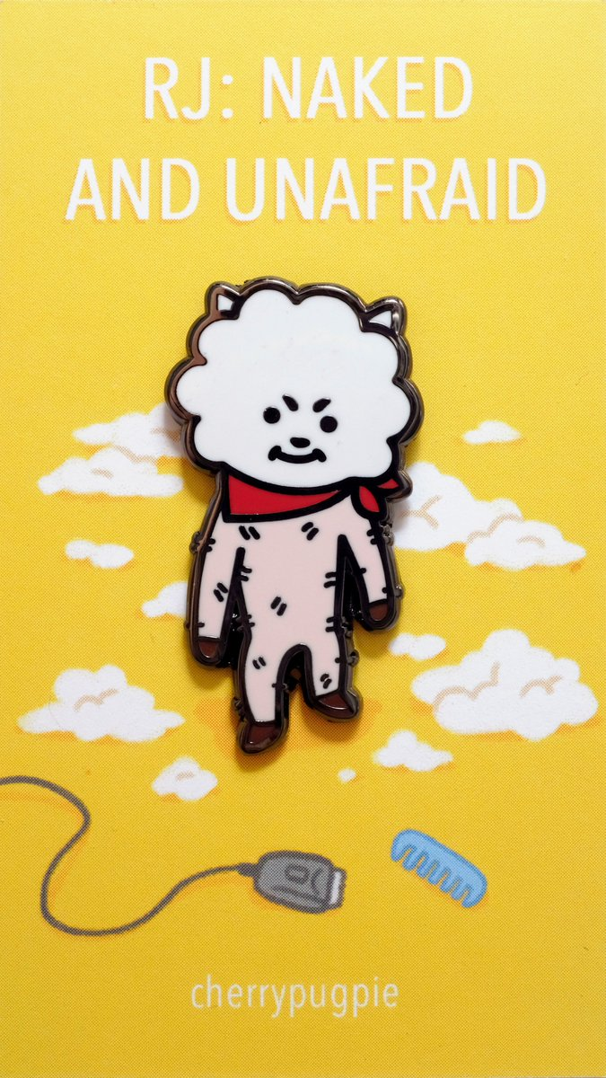 i'm so excited to share that MY SHAVED AND NAKED RJ PINS ARE HERE!! i'll have these extremely cursed bad boys for sale at anime expo table g16 and eventually on my online store! <br>http://pic.twitter.com/WzJAV1JnUg
