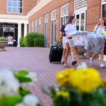 📚 Welcome home, @NCGovSchoolWest! Today, 350 high school seniors from across the state moved in for the next 5 weeks. We are excited to support the continuation of the program's unique & diverse academic offerings! 💜 #HPU365
