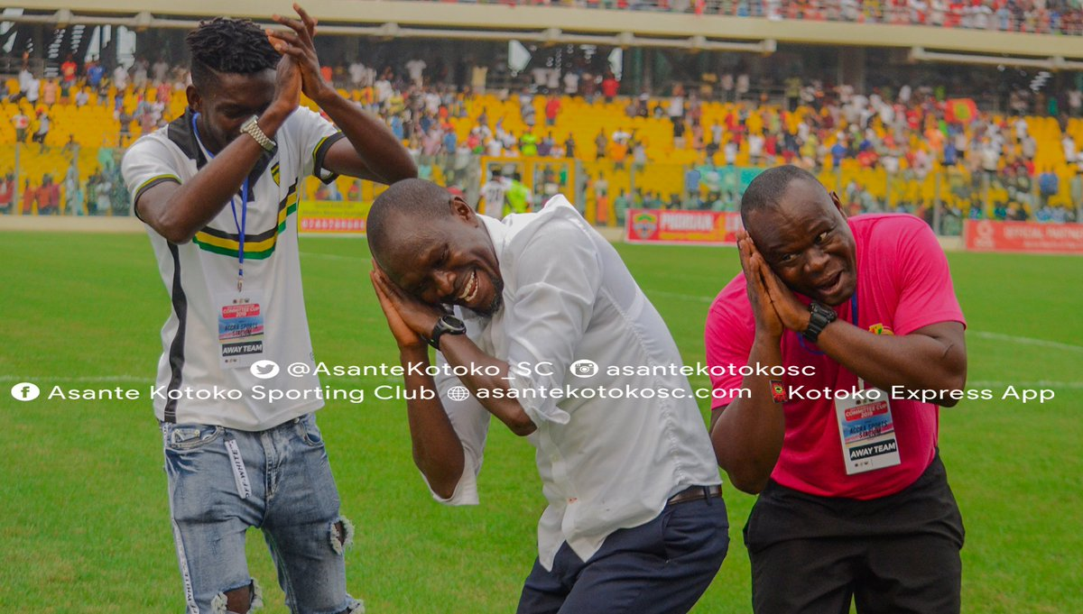 Special Competition: Kotoko coach C.K Akonnor brags after beating Hearts in Accra