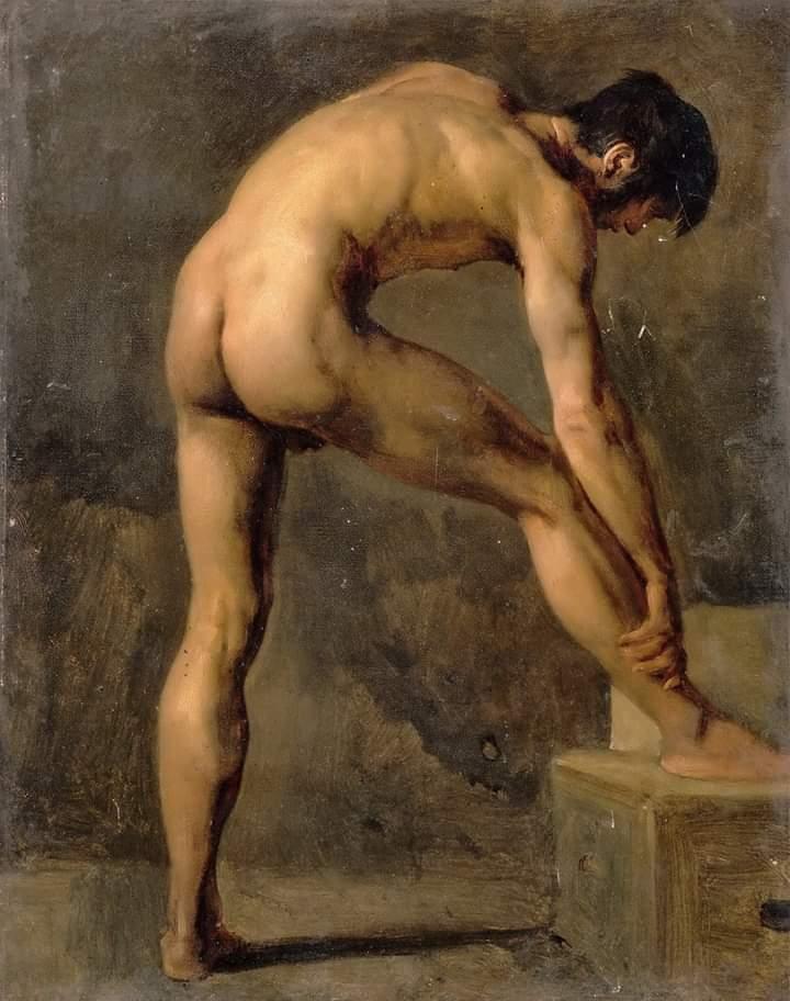 Галерея картин голых мужчин #1