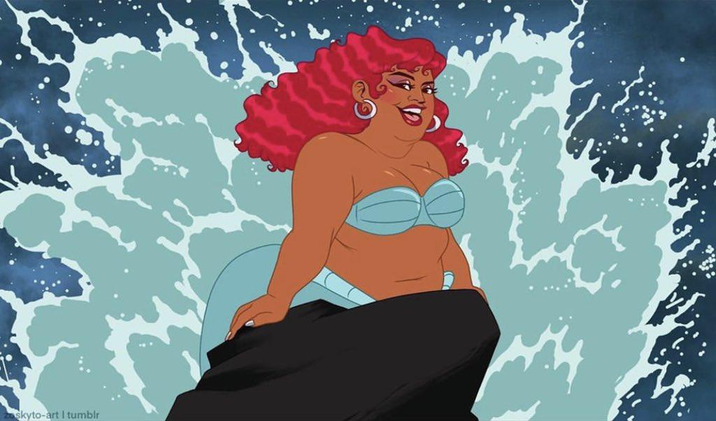 RT @lizzo: The Big Mermaid https://t.co/TxLCL9451K