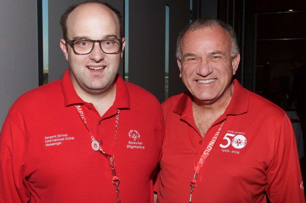 This Father's Day I'm thankful for my dad Adam & my SSIGM @SpecialOlympics Mentor @SOILLChris #ChooseToInclude  @SO_Illinois @SONorthAmerica
