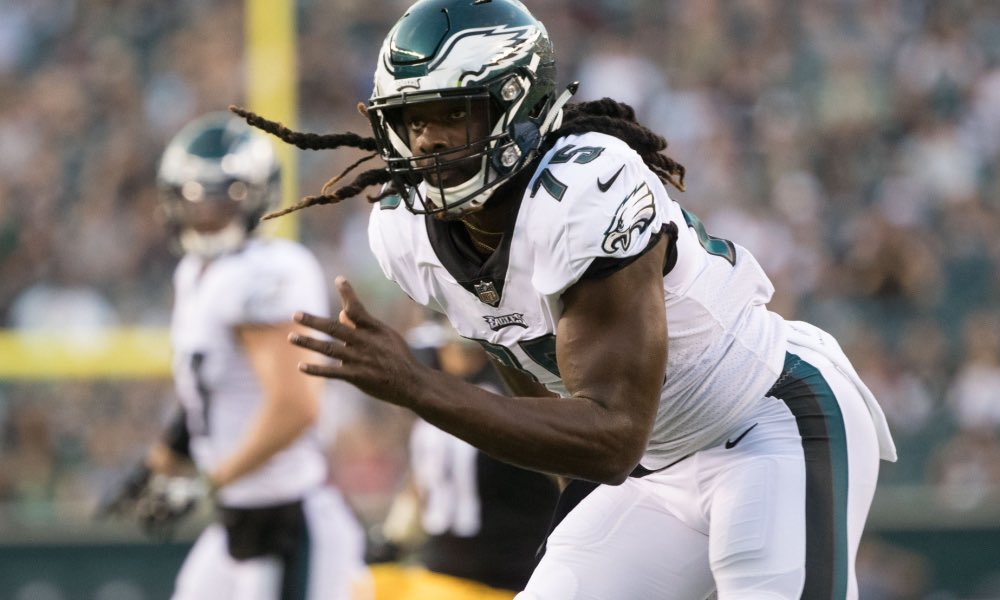 """""""I know. I don't need nobody to tell me. But, yeah, it's definitely implied. You just feel it in the atmosphere. But I'm ready to live up to it.""""  With Michael Bennett and Chris Long gone, Josh Sweat is ready to step into a bigger role for the #Eagles <br>http://pic.twitter.com/ET1z3P2haU"""