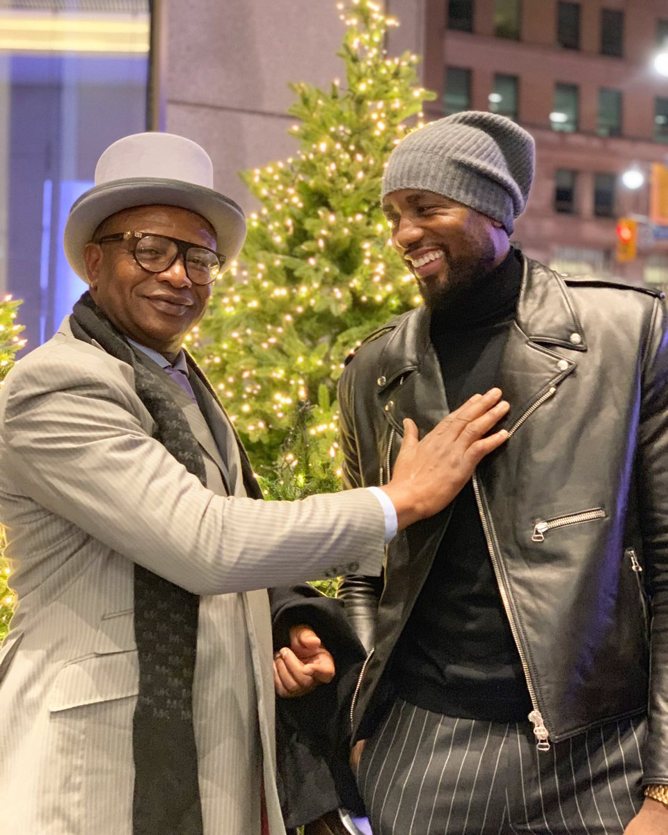 Happy Father's Day to my biggest inspiration!! It's a blessing to have him by my side as I won my first NBA Championship. #sonoftheCongo #avecclasse<br>http://pic.twitter.com/sPEVhz7mPC