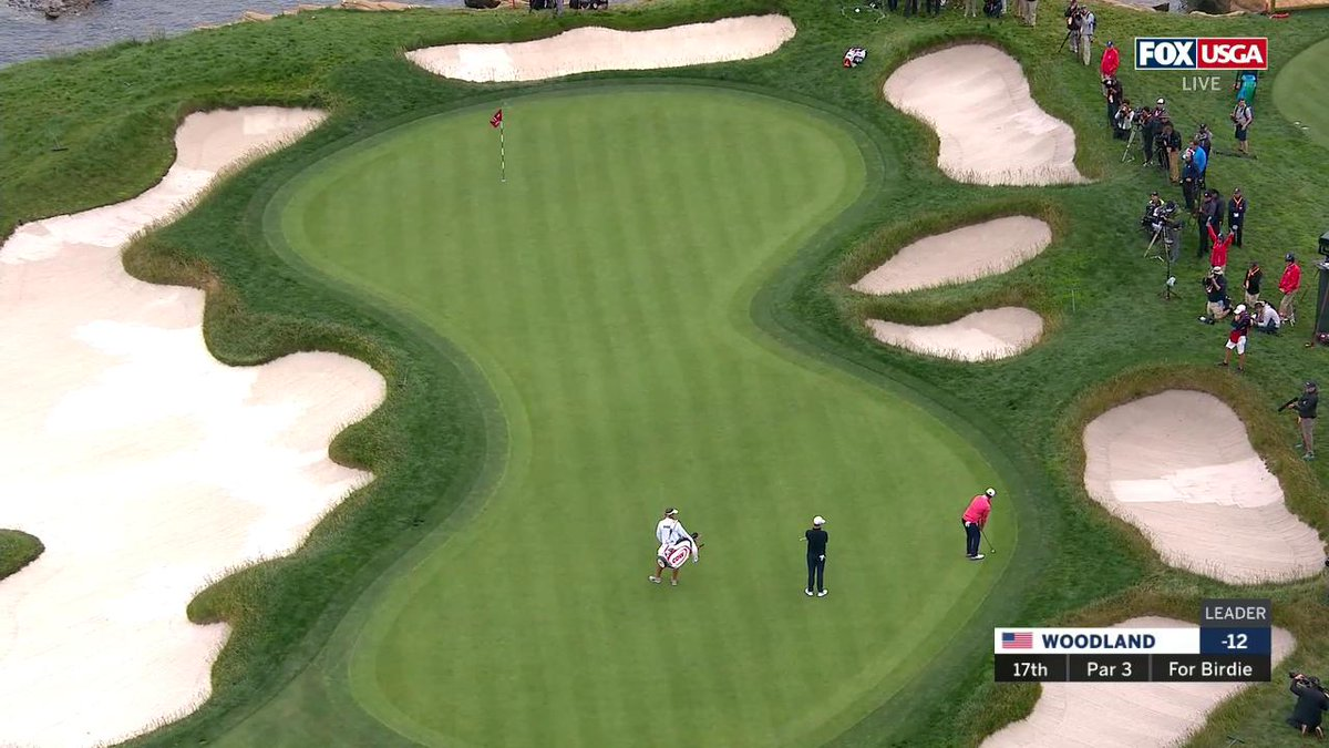 Video: This Absurd Chip Won The U.S. Open For Gary Woodland