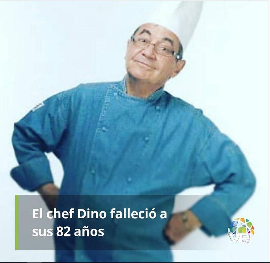 #de #Martino #D´ #Avanzo #El #chef #Dino #Fallecio #a #Sus #82 #Años https://t.co/0aFm2BEPWC