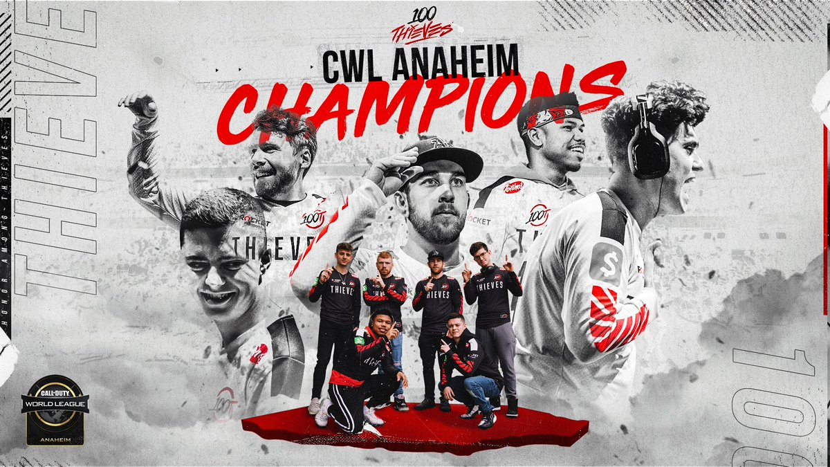 BACK-TO-BACK CHAMPIONS 🏆  #100T #CWLAnaheim