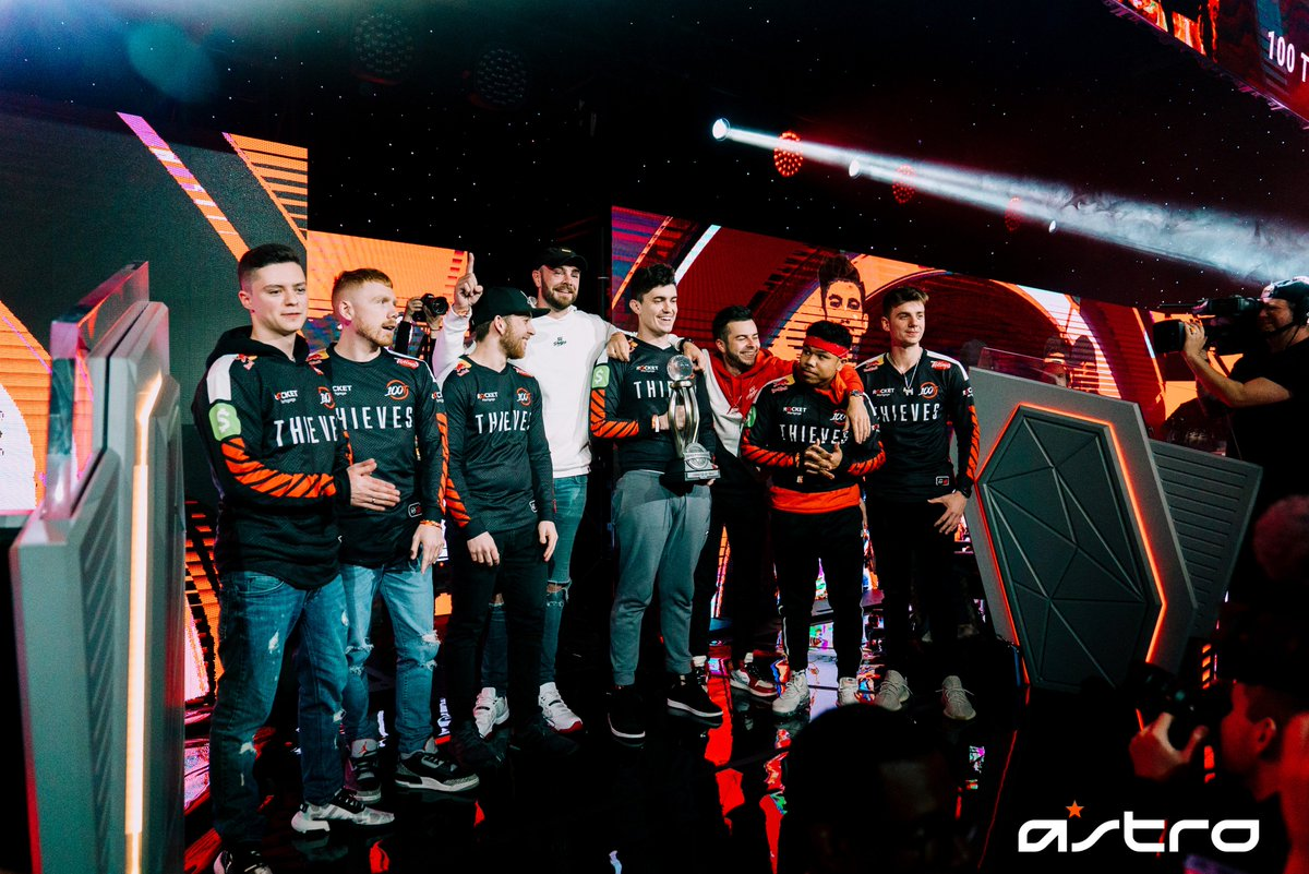 Congratulations to @100Thieves for taking the #CWLAnaheim Championship!  @Octane_  @KuavoKenny  @Priestahh  @Enable  And a special shout out to @SlasheR_AL  for earning the ASTRO MVP 🏆