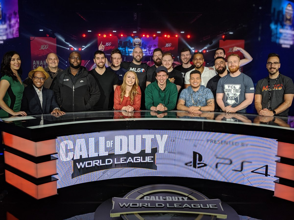 I love producing @CODWorldLeague events!   Congrats to @100Thieves on back to back wins! Thank you to the MASSIVE production crew and talent team that put on this incredible show. We'll see you in #CWLMiami<br>http://pic.twitter.com/tRnFBkpDRg