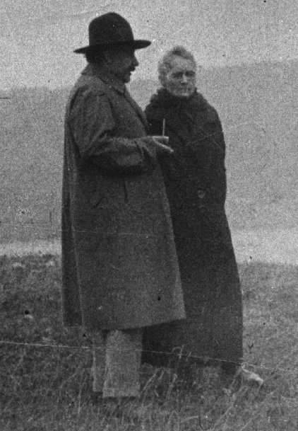 RT @phalpern: Two giants of 20th century science:  Albert Einstein and Marie Curie https://t.co/Yn0VpX6Tu8