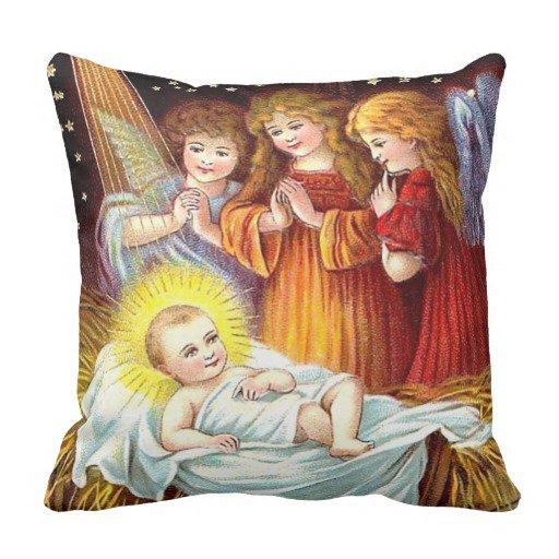 Baby Jesus - Throw Pillow https://t.co/LSInkgfhhT #Vintage #Christmas https://t.co/CwBXKjKv01