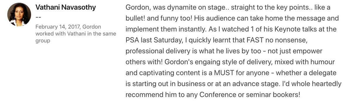 If you'd like to book Gordon to speak at your Event email gordon@gordontredgold.com 36 #events  #eventprofs https://t.co/b2cw4lLdzQ