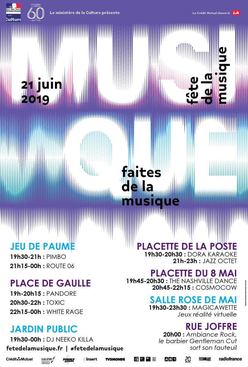 #FetedelaMusique : Voici le programme complet de ce que vous réserve la #LaColleSurLoup ! Un événement aussi convivial que musical dans les rues et ruelles du village.  #CotedAzurFrance @OTCollesurLoup