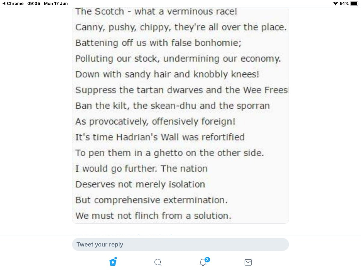 NEVER forget what @BorisJohnson  thinks of #Scotland and her people #WeLovEu #Indy2020 https://t.co/nS2vdcLATn