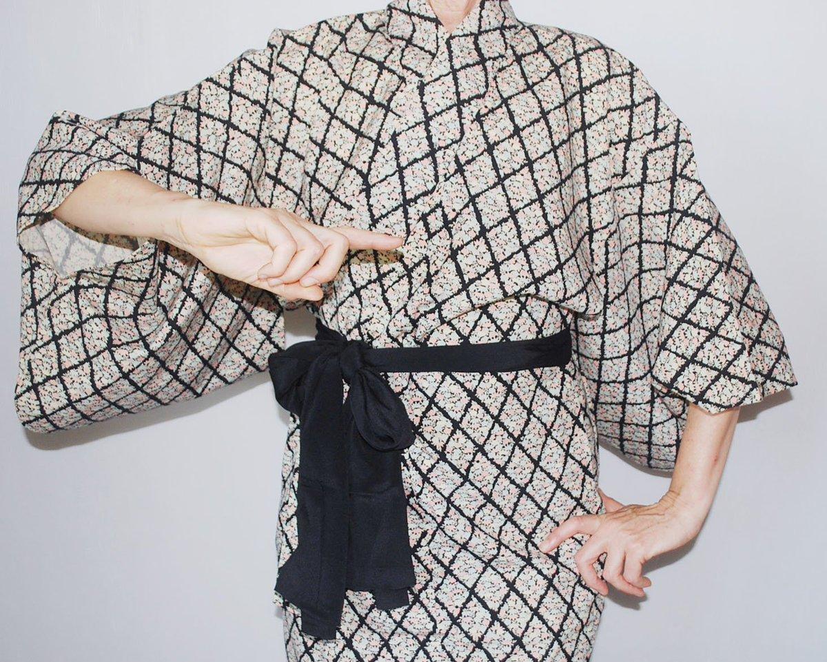 latest addition to my #etsy shop: https://t.co/0DEPKHTxoJ #clothing #women #dress #black #longsleeve #floralkimono https://t.co/SQvyctUnmA