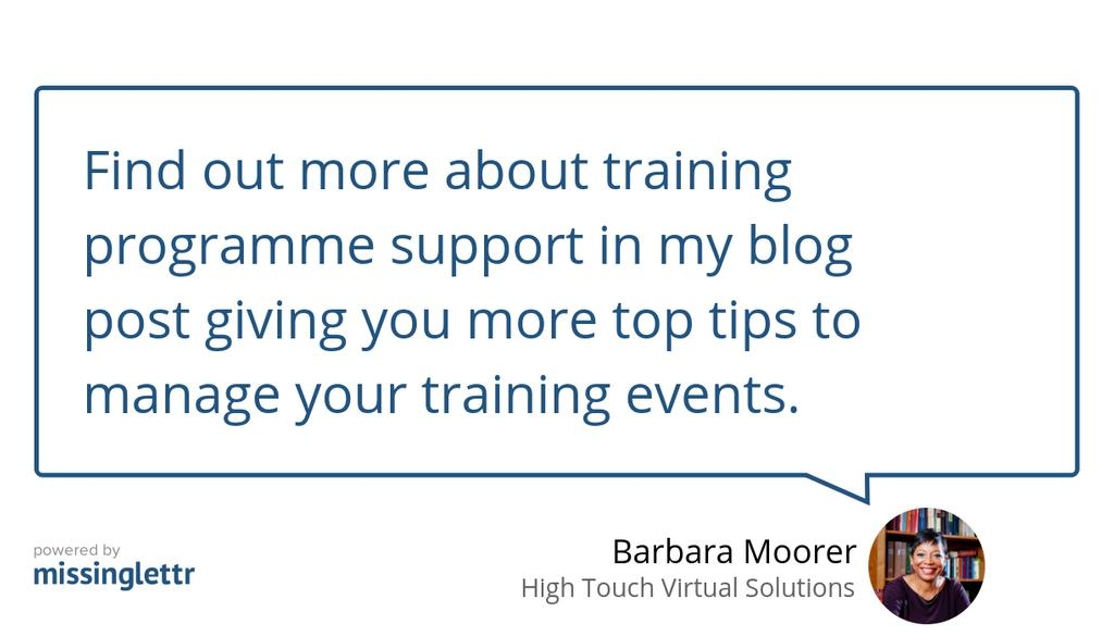 Remarkable tips to prepare for training programmes in 2019 https://t.co/gFIMM7JxV7 #Training #Learning #Events #HR https://t.co/Bbi9fp19NL