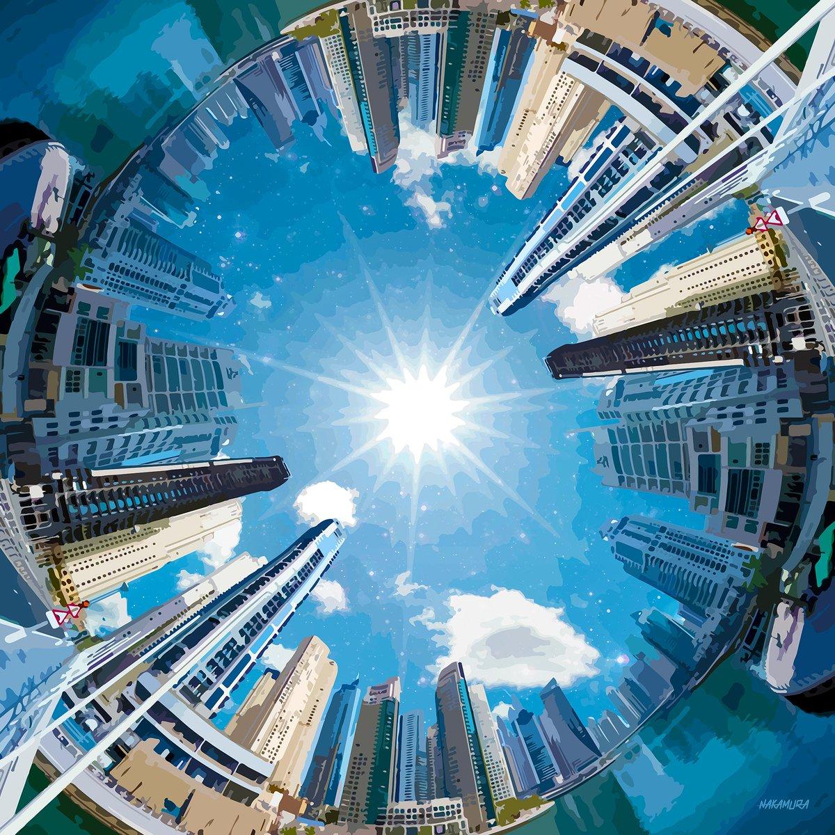 Keep Looking Up #Buidlings #City #Cityscape #Colorful #Fisheye #Nakamura #Sky #Sphere #Sunny https://t.co/hYVJ9RkyoX https://t.co/3Qk3YfauVE