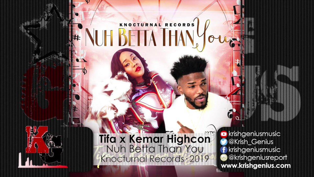 Tifa x Kemar Highcon - Nuh Betta Than You (Raw) (Official Audio 2019) -  https:// mixreggaemusic.com/tifa-x-kemar-h ighcon-nuh-betta-than-you-raw-official-audio-2019/  … <br>http://pic.twitter.com/m43xzTvwz1