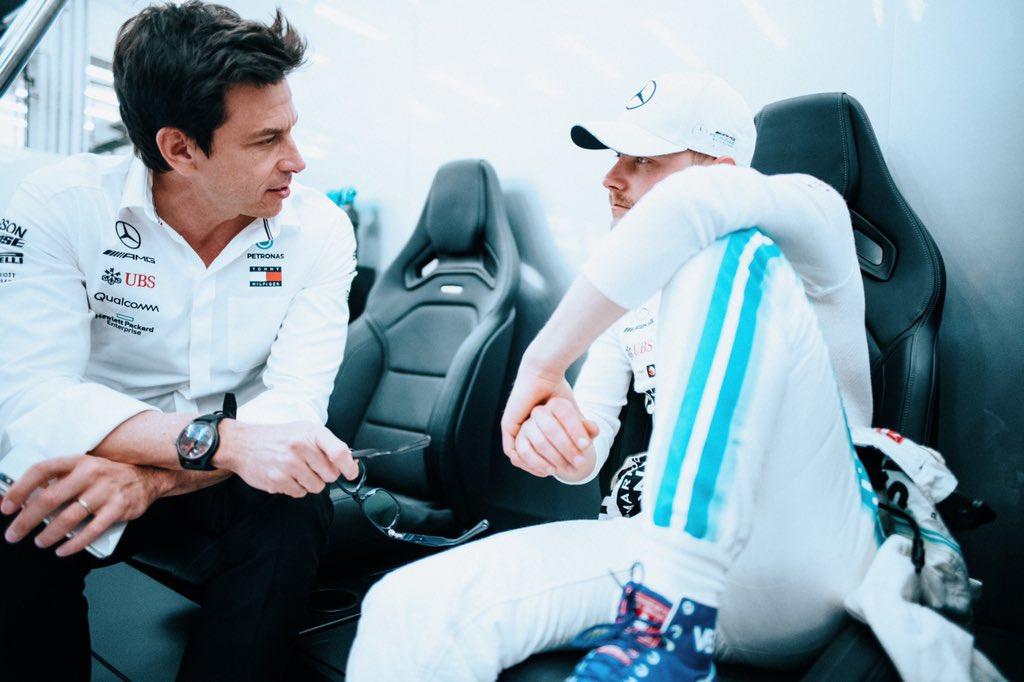 Monday! Race week 🏁  #VB77 #F1 @MercedesAMGF1  📸 @paulripke