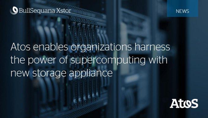 Atos today announces #BullSequana Xstor, its new range of modular storage appliances, which...