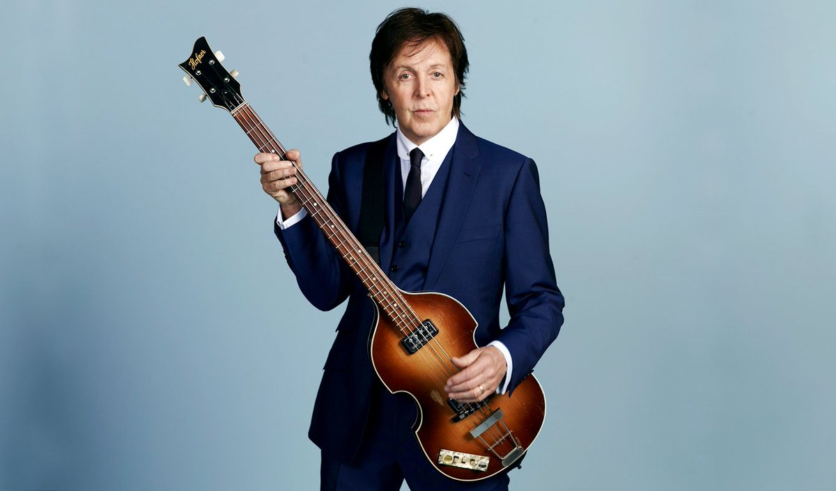 #BTD Jun18,1942 Sir James #PaulMcCartney singer, songwriter, bass the #Beatles, #Wings & solo artist. 60 Gold records (43 #Beatles, 17 #Wings), wrote 188 charted UK records (91 Top10, 33 #1s), 32 US #1s (20 #Beatles, 7 solo & #Wings, 5 other), 21 #Grammys #HBday @PaulMcCartney<br>http://pic.twitter.com/HKpAXsnt3H