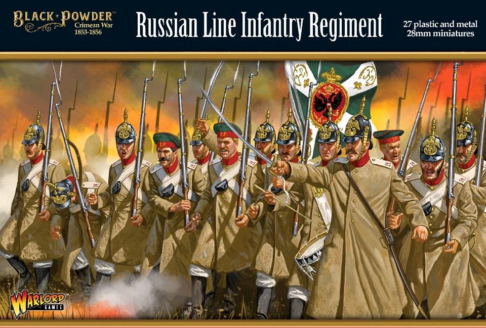 Próximamente para Black Powder tendremos disponible una nueva gama de infantería rusa de la Guerra de Crimea.    #warlordgames #blackpowder #boltaction  #konflikt47 #warlordsoferehwon #cruelseas #hailcaesar