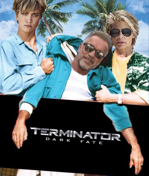 New #TerminatorDarkFate Poster.