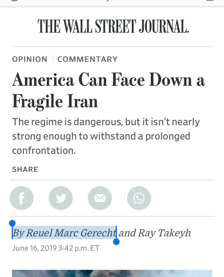 America can overthrow Iran with ease says guy who totally got Iraq right