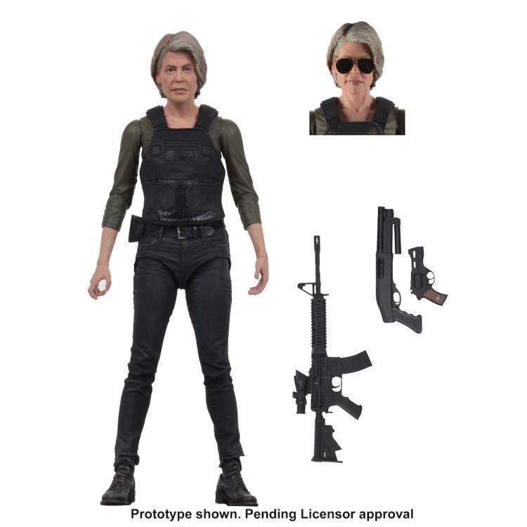 Preorder Now! NECA Terminator Dark Fate (2019) - 7 Scale Action Figure - Sarah Connor On Sale: Oct 2019 Retail Price: HK$218.00/pc Special Preorder Price: HK$168.00/pc Order Deadline: 25 June 2019 Deposit: HK$100.00/pc 7 inches (17.78cm) #clarkscomics #TerminatorDarkFate