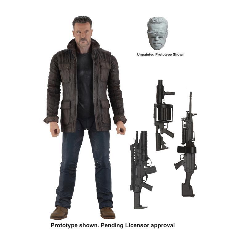 Preorder Now! NECA Terminator Dark Fate (2019) - 7 Scale Action Figure - T-800 On Sale: Oct 2019 Retail Price: HK$218.00/pc Special Preorder Price: HK$168.00/pc Order Deadline: 25 June 2019 Deposit: HK$100.00/pc 7 inches (17.78cm) #clarkscomics #neca #TerminatorDarkFate #T800