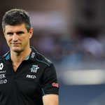 Image for the Tweet beginning: NOW: Nathan Bassett, @PAFC Assistant