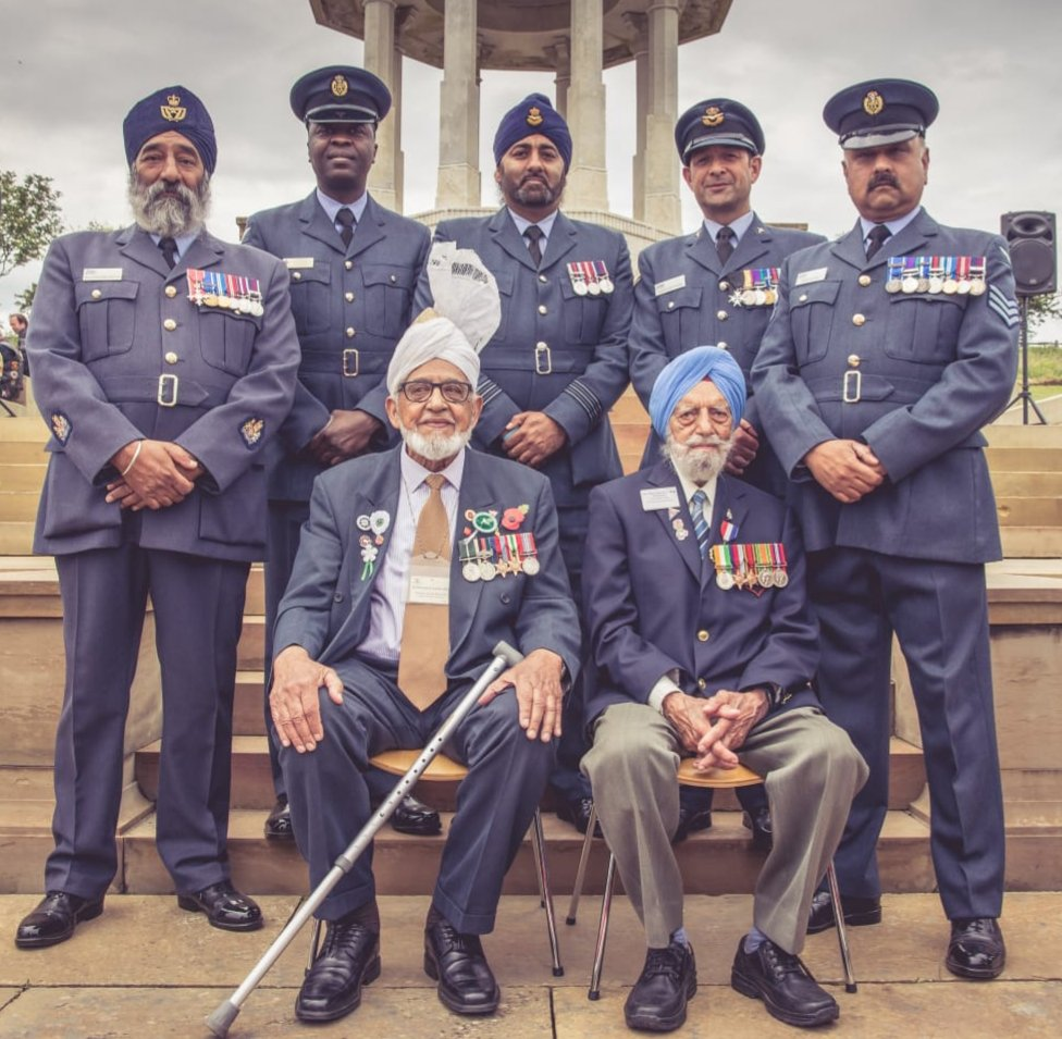 The RAF Spec Engagement Supporting the Chattri Memorial Brighton. In honour Hindus and Sikh Soldiers WW1. <br>http://pic.twitter.com/TBn1C5lIba