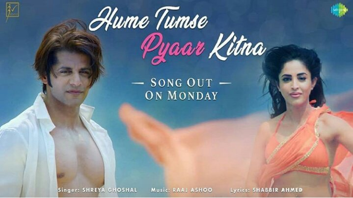 The most tasted music #HumeTumsePyaarKitna is on way..We're ready to pick up the refreshing tune! @shreyaghoshal & #SonuNigam - The ever duo! @htpkthefilm  Just few more to wait..