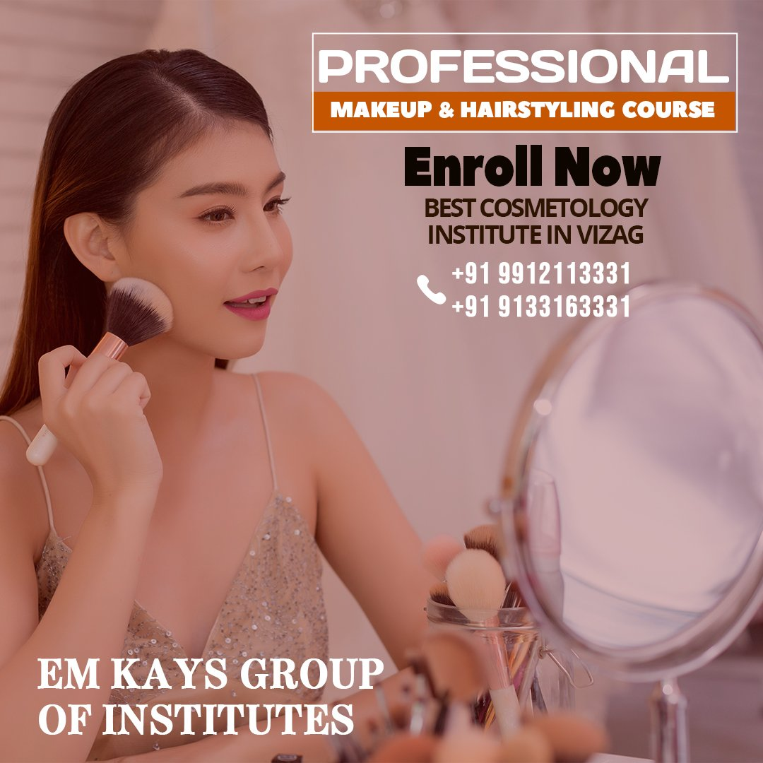 Em Kays Group Of Institutes On Twitter Professional Makeup And Hairstyling Course Https T Co A2hbhiwfqr Fashion Designing Fashiondesigning Cosmetology Hair Hairdesigning Makeup Makeupartistry Beauty Https T Co Sx06iul0fj