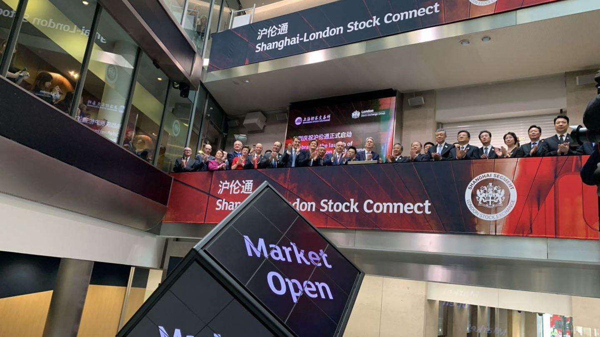 RT @CGTNOfficial: Shanghai-London Stock Connect launches in #London https://t.co/lq38dd52BS https://t.co/jPnyLJSErA