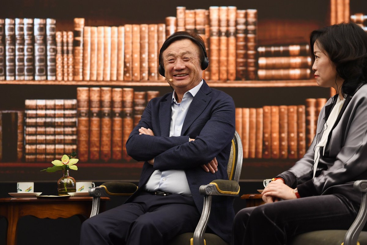Huawei will neither split nor sell its mainstream businesses, and it has no plan of mass layoff: founder&CEO Ren Zhengfei  http:// xhne.ws/R2jWm    <br>http://pic.twitter.com/W65uimnbpw