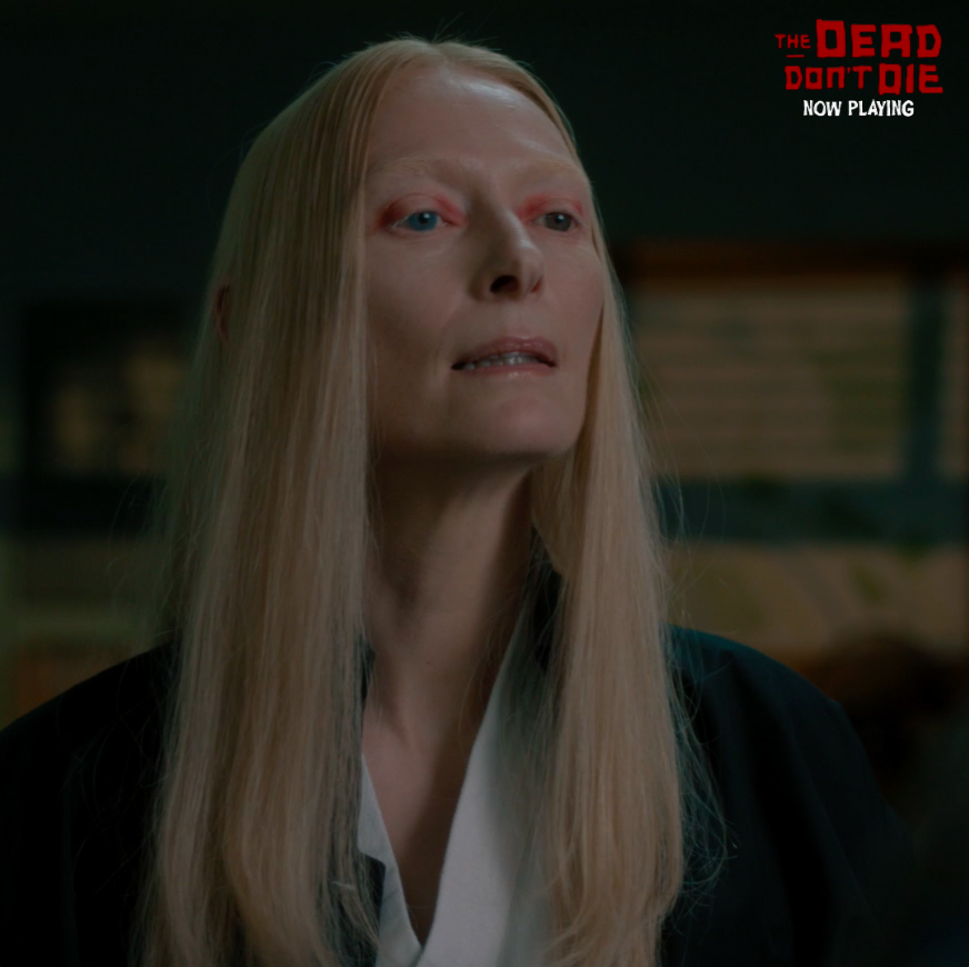 She knows her way around a keyboard. And a zombie horde. #TheDeadDontDie  🎟: http://thedeaddontdietickets.com