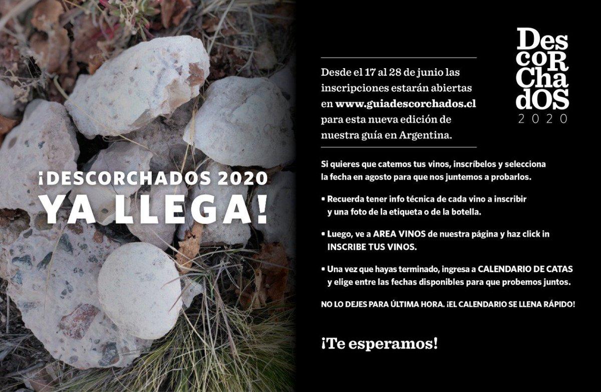 Calendario Vino 2020.Guia Descorchados Patricioatapia Twitter