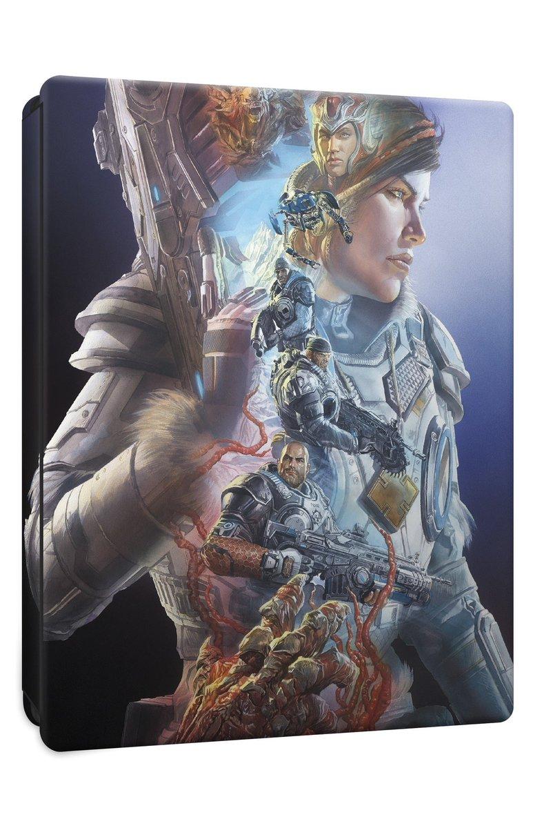 RT @thealexrossart: #Gears5 #steelbook Art #GearsofWar #MondayMotivation #mondaythoughts #MondayMorning https://t.co/H12O3Jch0w