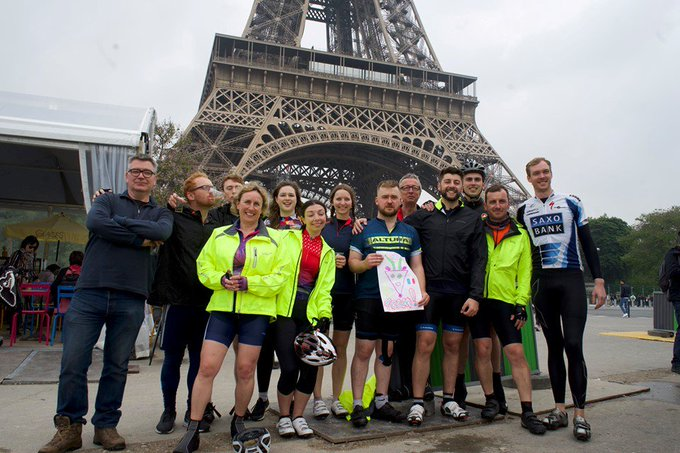 Despite many hills, a few falls and a torrential downpour, a team of our...