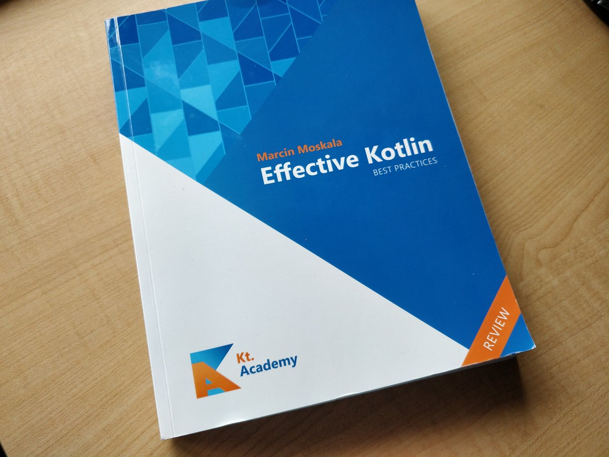 I just got my hands on the newest, unreleased book  - Effective Kotlin by @marcinmoskala. It will be published later this year.  #Kotlin @ktdotacademy<br>http://pic.twitter.com/A8BzML8juX