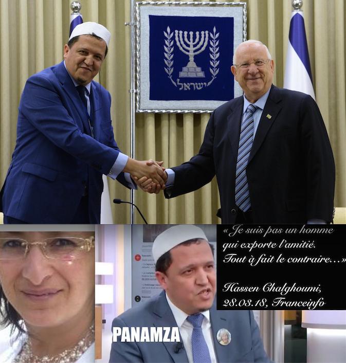 Tout un symbole : Chalghoumi en Israël avec Ni Putes Ni Soumises